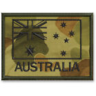 FLAG PATCH AUSTRALIAN ARMY SUBDUED BLACK ON CAMO COLOURED #1