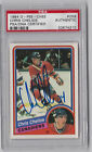 1984-85 OPC #259 Chris Chelios RC PSA DNA AUTOGRAPHED