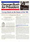 1988 George Bush Congressional Record Campaign Newsletter
