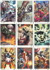 MARVEL UNIVERSE 2011 ARTISTS DRAFT INSERT CARD SET AD1 to AD9