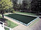 16x32 Winter Swimming Pool Cover and 10 Water Tube Kit for Inground Pools