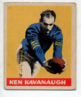 1949 Leaf Football Card #51 Ken Kavanaugh-Chicago Bears