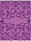 NEW Cuttlebug Embossing Folder Skeleton Scroll save w combined shipping