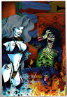 LADY DEATH - Series 3 - Box Topper Chase Card O-5 - EE LD Postcard Shot