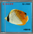 Singer XL-5000 or 6000 Embroidery Card 5010 Nautical Designs,See under the sea!!