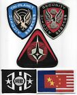Firefly Serenity Alliance Logos Embroidered Patch Set of 5 NEW UNUSED