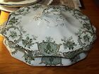 Antique Wedgwood Raleigh Footed Covered Vegetable Serving Bowl NM RARE 10 1/2