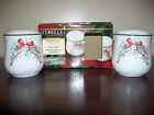CORELLE CALLAWAY IVY CHRISTMAS HOLIDAY SALT PEPPER SHAKERS SET W/ BOX