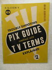 H.G. Cisin's Trouble Shooting Pix Guide with TV Terms Explained 1953 Teevision