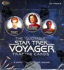 STAR TREK VOYAGER THE QUOTABLE TRADING CARDS BOX