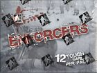 2011 12 IN THE GAME ITG ENFORCERS HOCKEY 28 BOX CASE