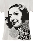 Setsuko Hara T shirt Hand airbrushed with stencils Ozu Tokyo Story