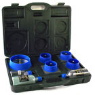 NATTCO 7 Piece Perfect Hole Cutter Kit W/Case