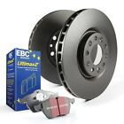 EBC S1KF1242 Stage 1 Front Brake Kit fit Geo Prizm 93 97 16 fit Toyota Corolla