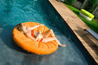 INFLATABLE SWIMMING POOL SUNSOFT FLOAT MATTRESS LOUNGE BEACH RAFT DECK CHAIR
