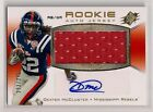 DEXTER MCCLUSTER SPX ROOKIE AUTO JERSEY # 375 TENNESSEE TITANS OLE MISS REBELS