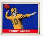 1948 Leaf Football Card #10 Perry Moss-Green Bay Packers