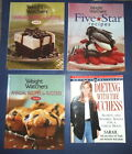 4 WEIGHT WATCHERS Annual  Five STAR RECIPE COOKBOOKS DIETING WITH THE DUCHESS