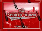 2012 PRESS PASS SPORTS TOWN FOOTBALL HOBBY 10 BOX CASE