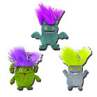 Uglydoll Bad Hair Day 4-Inch Plush Keychains Backpack Clips - Set of 3 - Gund