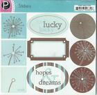 Pebbles Inc MAKE A WISH Stickers Scrapbooking Cardmaking Paper Crafts