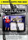 2012 PRESS PASS SPORTS TOWN FOOTBALL BLASTER 20 BOX CASE