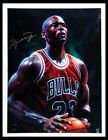 MICHAEL JORDAN SIGNED AUTOGRAPHED BULLS 33 x 42 LIMIT EDITION 23 of 23 UDA NP 66