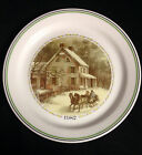 1982 Corelle Christmas Series Collector Plate