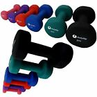 Fitness Neoprene Neo Hand Weights Dumbbells 1 5Kg Exercise Home Gym