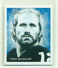 Terry Bradshaw 2009 Topps National Chicle #44 Mini #1 25 First One NUMBER 1
