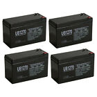 UPG 4 Pack 12V 7Ah Go Ped ESR750 ESR750EX Electric Speed Racer Scooter Battery