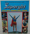 Vintage 1984 Superman SUPERGIRL Movie Cut Out PAPER DOLL Book