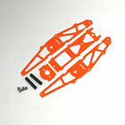 XTREME RACING ORANGE G10 1/24 MICO SLOT CAR DRAG CHASSIS XTR20042 INLINE BRACKET