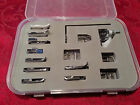 Low Shank Foot Feet 15 pc. Singer, Brother Janome,  #004 Set