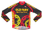 OLD FART Cycling Team Long Sleeve Jersey 5X 5XL New