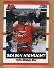 2010-11 Score Cam Ward Autograph 5 Carolina Hurricanes All Star Game Insert