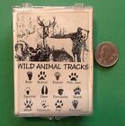 Wild Animal Tracks Set of 12 Wood Mounted Rubber Stamps