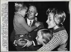Astronaut Buzz Aldrin & Family Press Photo