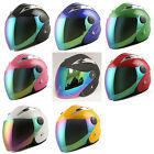 DOT WOW Motorcycle Scooter Mopeds Bike Open Face Helmet 3 4 Face Glossy Green