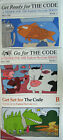 LOT OF 3 Explode the Code Series Workbooks A Get Ready B Get Set C Go For