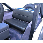 For Jeep Wrangler Cj Yj 55 95 Fixed Rear Back Seat Black Denim X 1346115