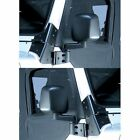 Jeep Wrangler Unlimited 03-06 Black Side Mirror Pair  X 11002.09