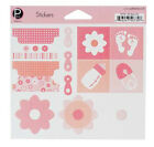 Pebbles Inc MY BABY GIRL Stickers Scrapbooking Cardmaking Paper Crafts