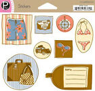 Pebbles Inc TRAVEL Stickers Scrapbooking Cardmaking Paper Crafts