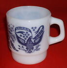FIRE KING E Pluribus Unum Made in USA Coffee Mug Anchor Hocking