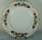 ROYAL CROWN DERBY china CHATSWORTH pattern Dinner Plate @ 10 3/8