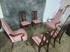 ETHAN ALLEN SET  GEORGIAN COURT DINING ROOM CHAIRS CHERRY SET