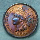 1890 Indian Head Penny Choice Uncirculated++ ~ Violet Toning * FREE SHIPPING *