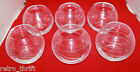 Mikasa Japan Home Accents Set of 6 Encore Votive Glass Candle Holders AS-IS