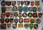 D.674 - LOT OF 40 VIETNAM WAR PATCH, PATCHES, US SPECIAL FORCES, MACV SOG RECON